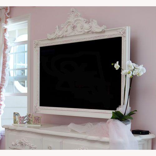 petite paris tv frame wohnung haus pinterest wohnzimmer bilder aufh ngen und m bel. Black Bedroom Furniture Sets. Home Design Ideas