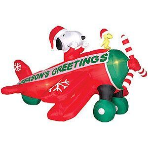 Amazon.com: 6 Ft. - Gemmy Christmas Airblown Inflatable - Peanuts ...