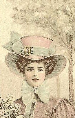 nice hat by in pastel, via Flickr