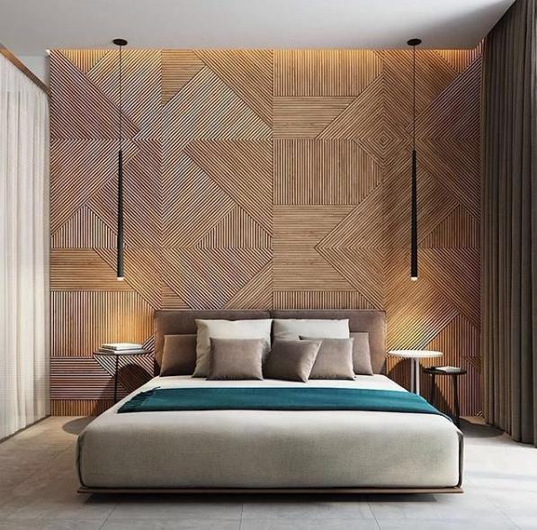 Lovely Moderne Schlafzimmer Lampen Design Ideen Mit Einzigartigen Wand Braun Photo Gallery