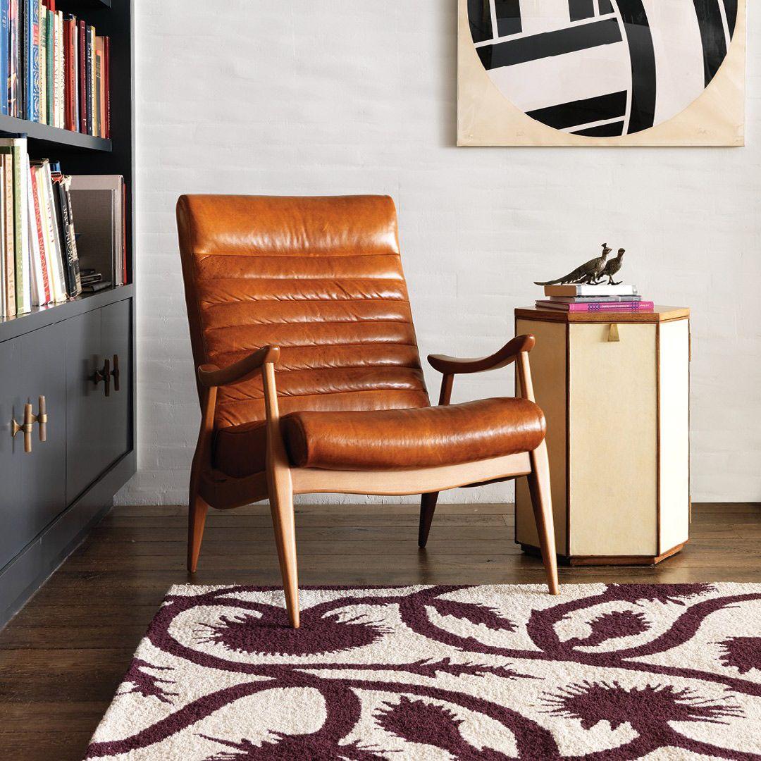 dwell studio furniture. DwellStudio Hans Leather Chair @Zinc_Door Dwell Studio Furniture