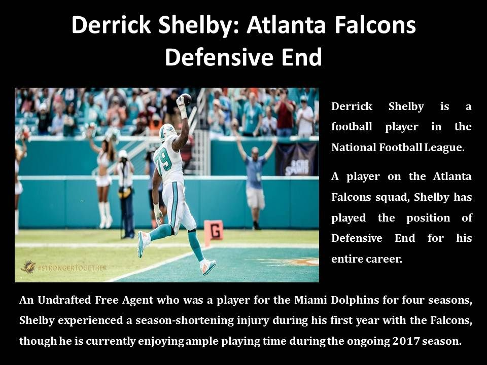 Derrick Shelby NFL Defensive Player Football players