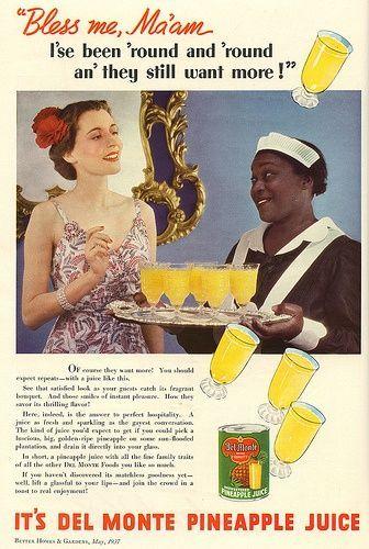 Del Monte pineapple juice  | Cool Retro Shit | Funny vintage