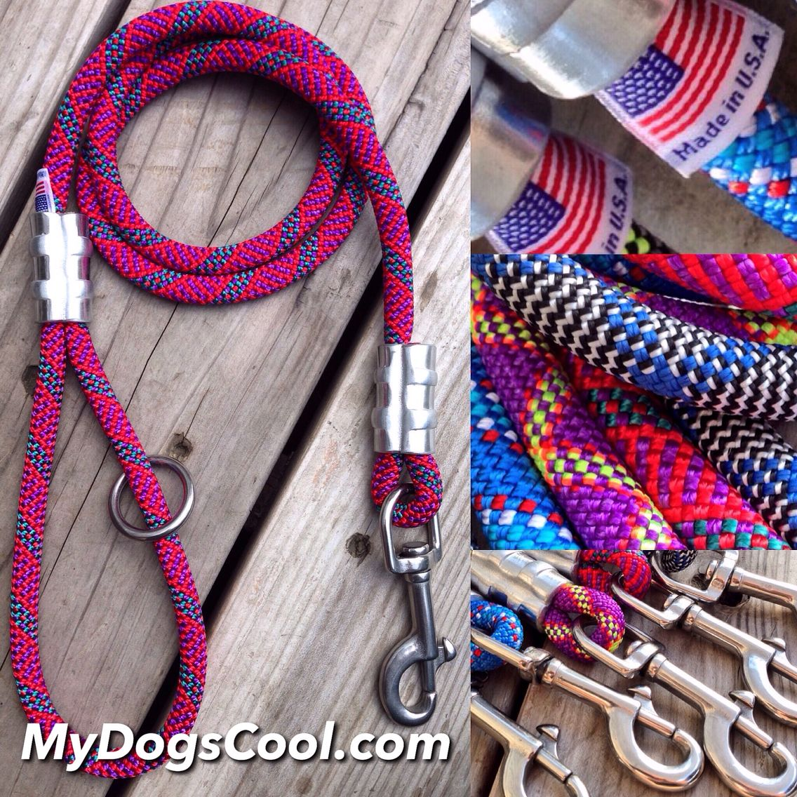 custom dog leashes built with the best climbing 316