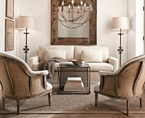 Napa Farmhouse from Restoration Hardware | rooms to live in ...