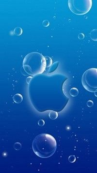 Pin By Jaco Jakes On Back Ground Blue Wallpaper Iphone Apple