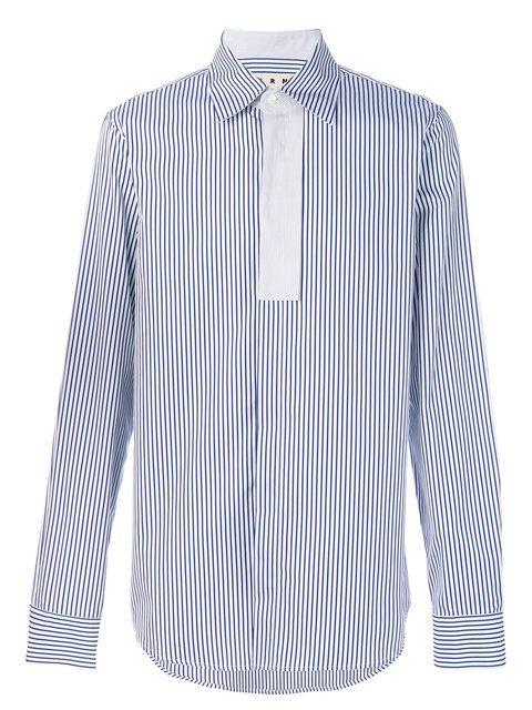 MARNI . #marni #cloth #细条纹衬衫