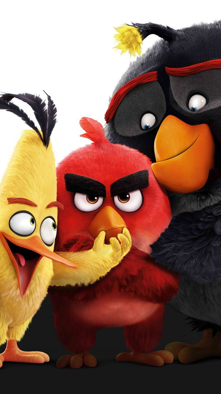 Best Latest Cool Iphone 7 Wallpapers Backgrounds Angry Birds Movie Angry Birds Angry Wallpapers