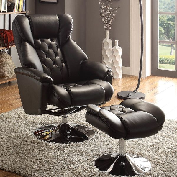 Woodhaven Hill Aleron Swivel Recliner And Ottoman Recliner With Ottoman Recliner Chair Ottoman In Living Room #swivel #reclining #chairs #for #living #room
