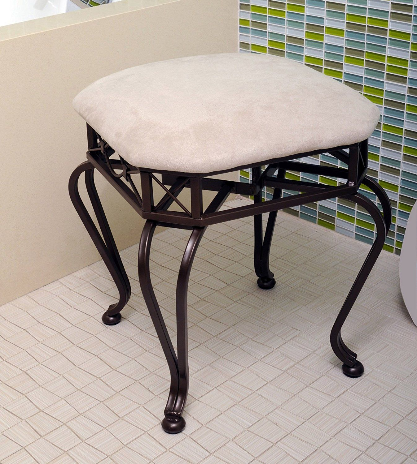 Vanity Chairs For Bathroom | BEDROOM FURNITURE | Pinterest ...