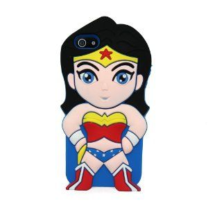 Euclid+ Wonder Woman Justice League Style Silicone Soft Cell Phone Case Cover for Apple iPhone 5, $8.99 via Amazon.Com