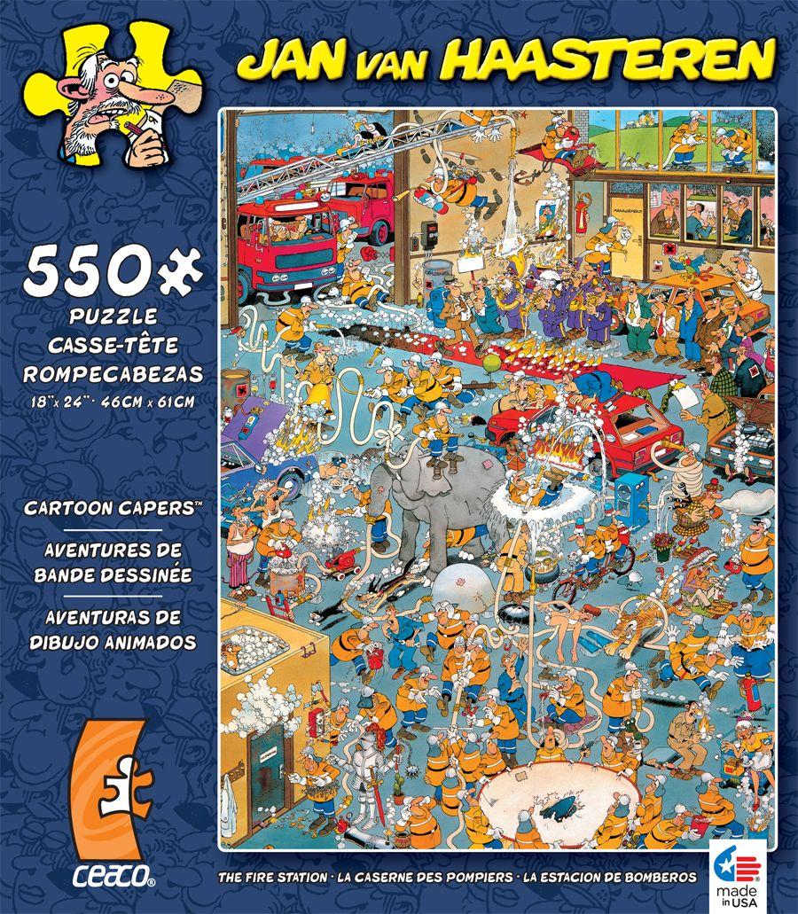 500 piece jan van haasteren jigsaw puzzle cartoon capers the