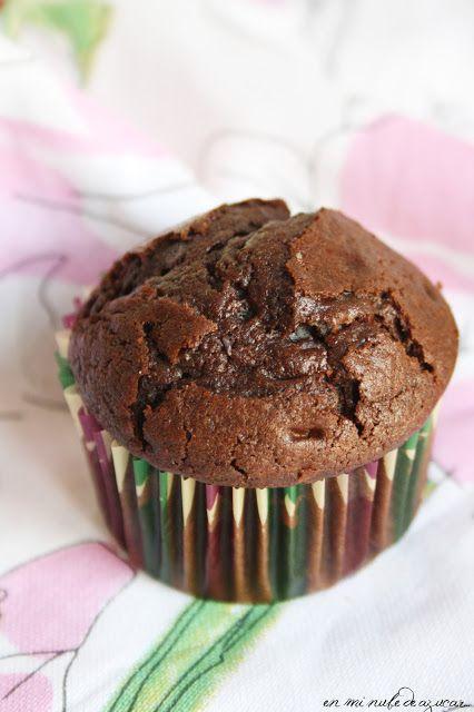 Muffins de chocolate Starbucks