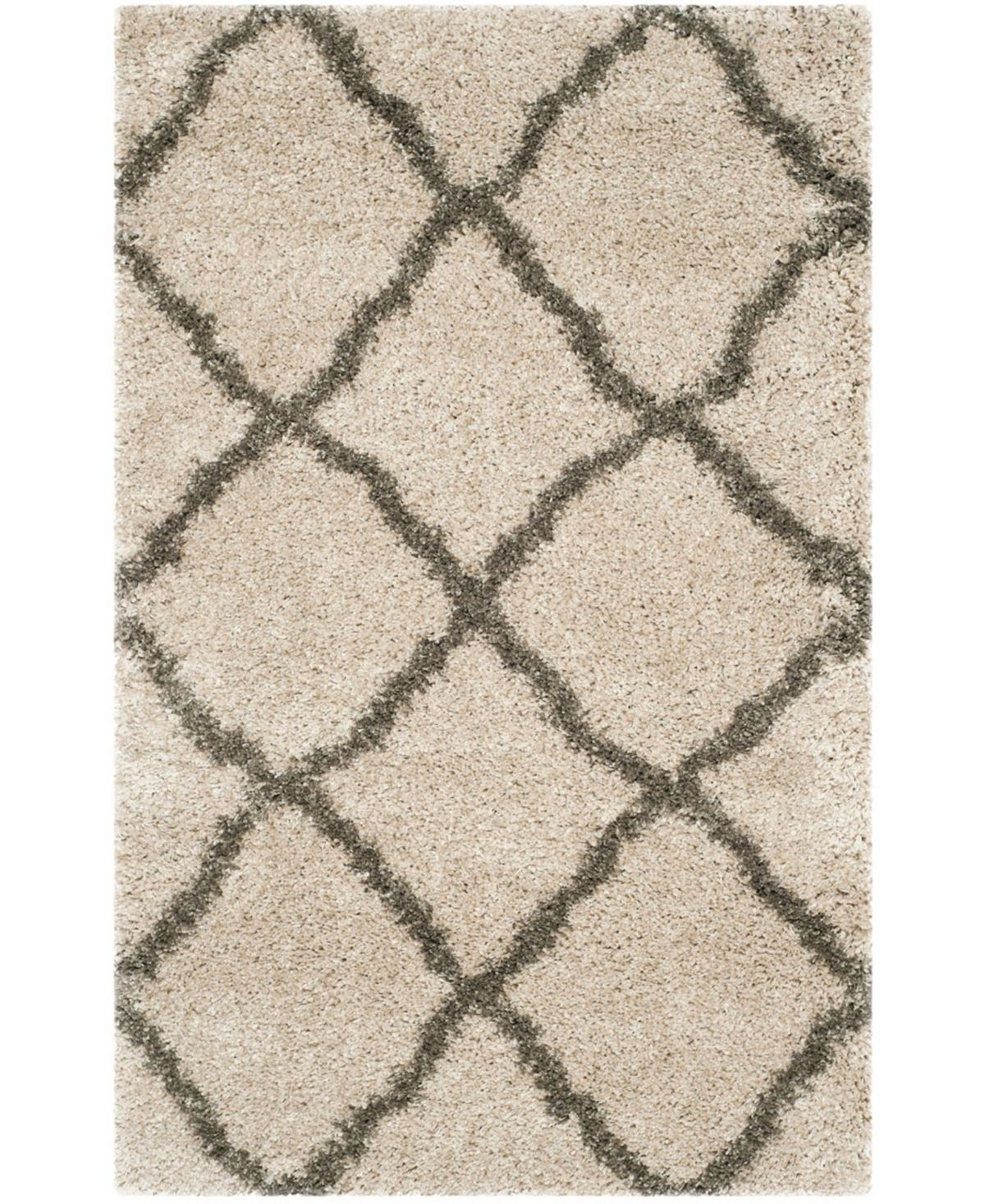 Safavieh Belize Taupe And Gray 2 3 X 5 Area Rug Reviews Rugs