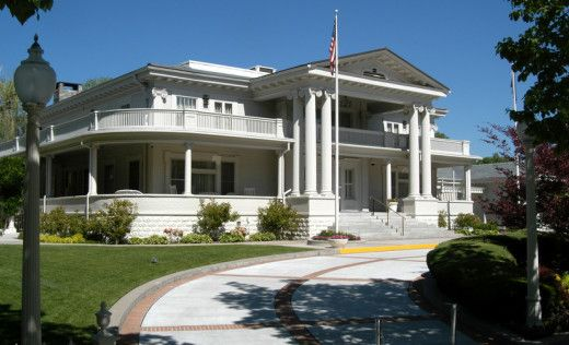 Nevada Governor Mansion Carson City Nv Roadtrippers Mansions Nevada Greek Revival Architecture