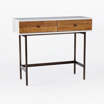 West Elm Lacquer Storage Coffee Table