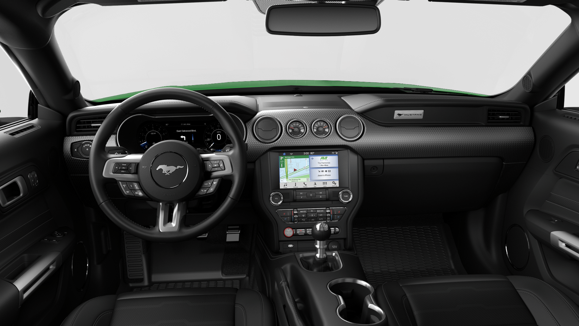 Interior View Of With Images Pony Car Hybrid Car Mustang