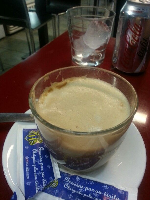 With Migue at Barcelona's fish market right before my flight back to Kuwait...July 11th 2013..Café con Leche