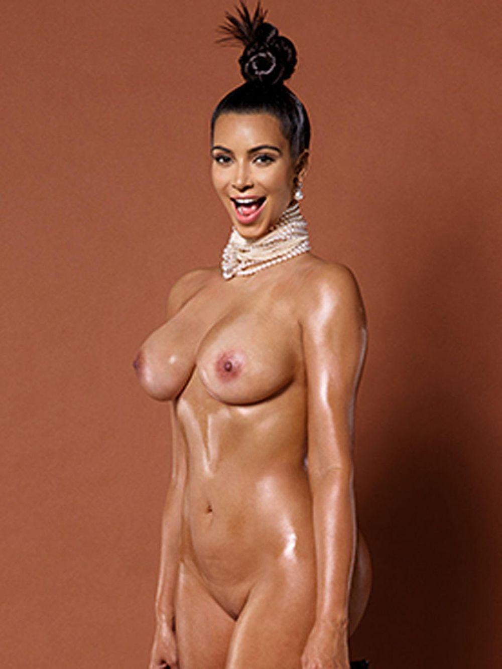 18 formas de ver a Kim Kardashian completamente desnuda