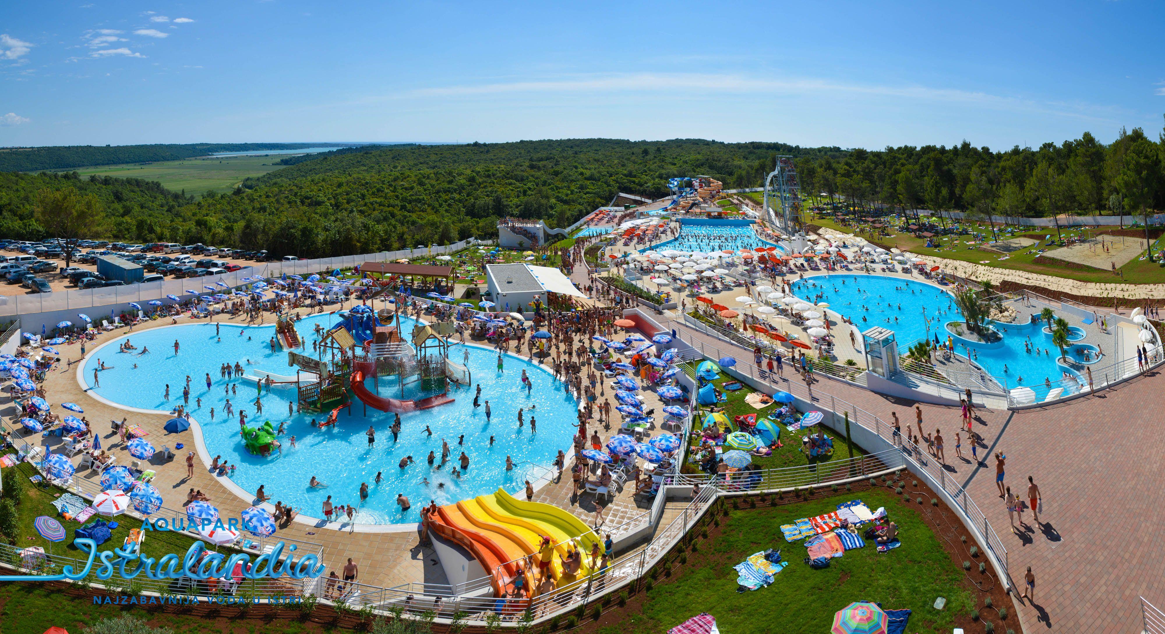 aquapark ISTRALANDIA 2014 Croatia holiday, Water park