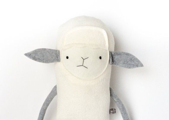 "He has a super soft plush body and is wearing a repurposed tee.This design is infant safe with stitched eyes.This little guy measures approximately 17"" tall X 6"