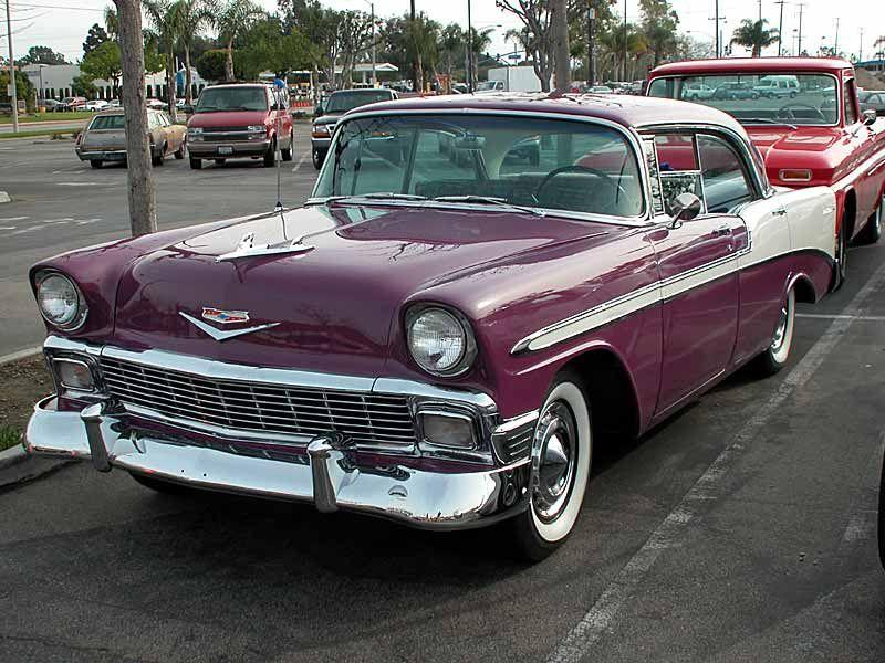 1956 Chevrolet Bel Air 4 Door Hard Top 1950s Cars And Trucks