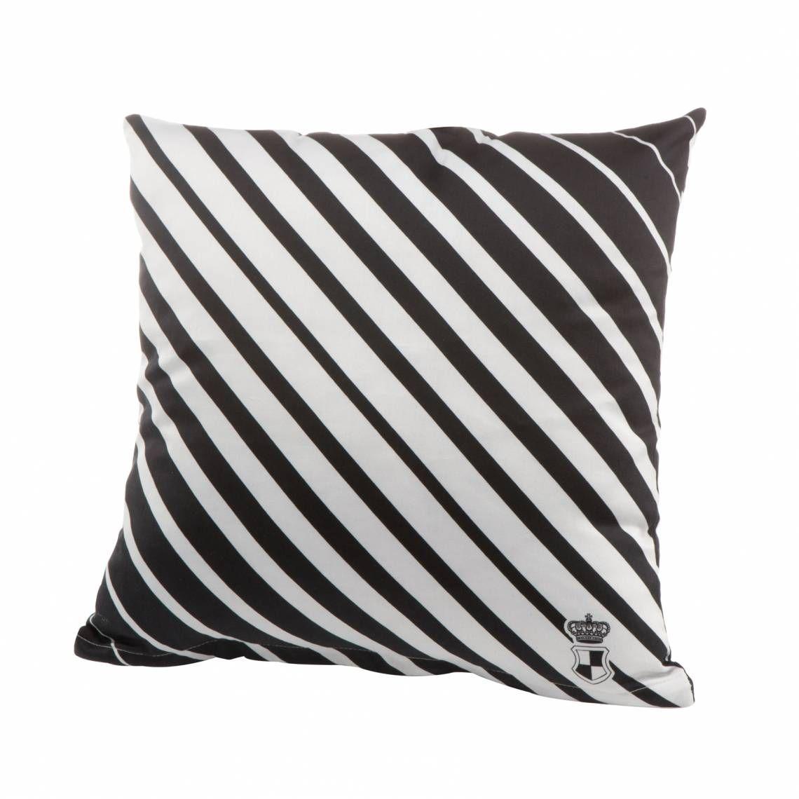 Goebel Stripes Kissenbezug Black And White Diagonal Stripe Design Pillow Kissen Kissenhullen Kissenbezuge