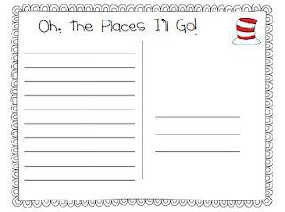 Postcard Template Writing Prompts For Kids Teacher Inspiration