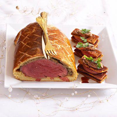 Filet De Bœuf En Croute Recette Roti Pinterest Recette
