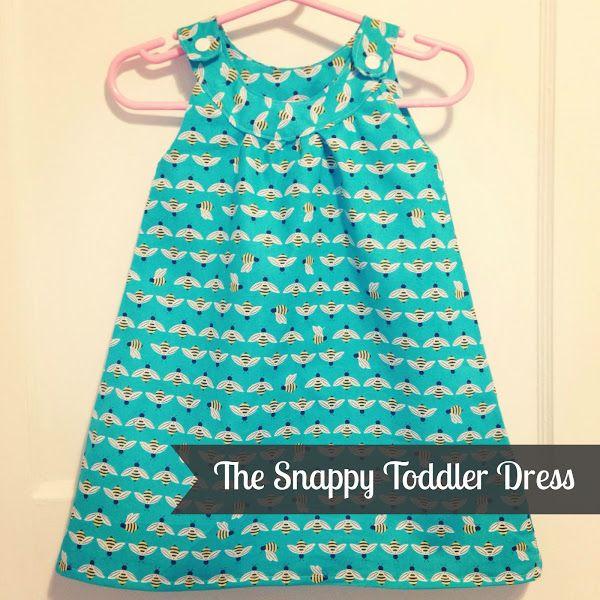 My Favourite (FREE) Baby Dress Pattern! (Toronto Mama) | Pinterest ...