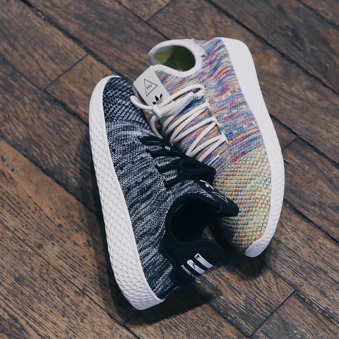 Pharrell Williams x Adidas Tennis Hu PK Oreo Multicolor