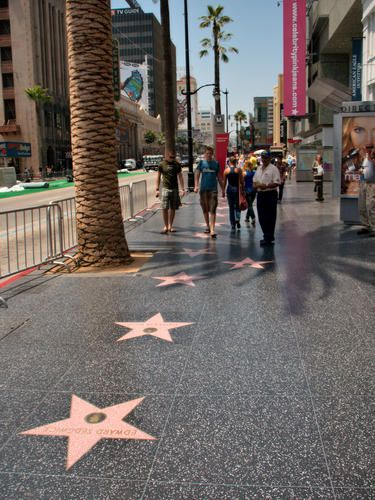 Los Angeles Hollywood Walk Of Fame Walk Of Fame Hollywood Walk Of Fame Walk Of Fame Map