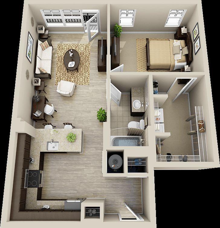 3d Floor Plan Apartment