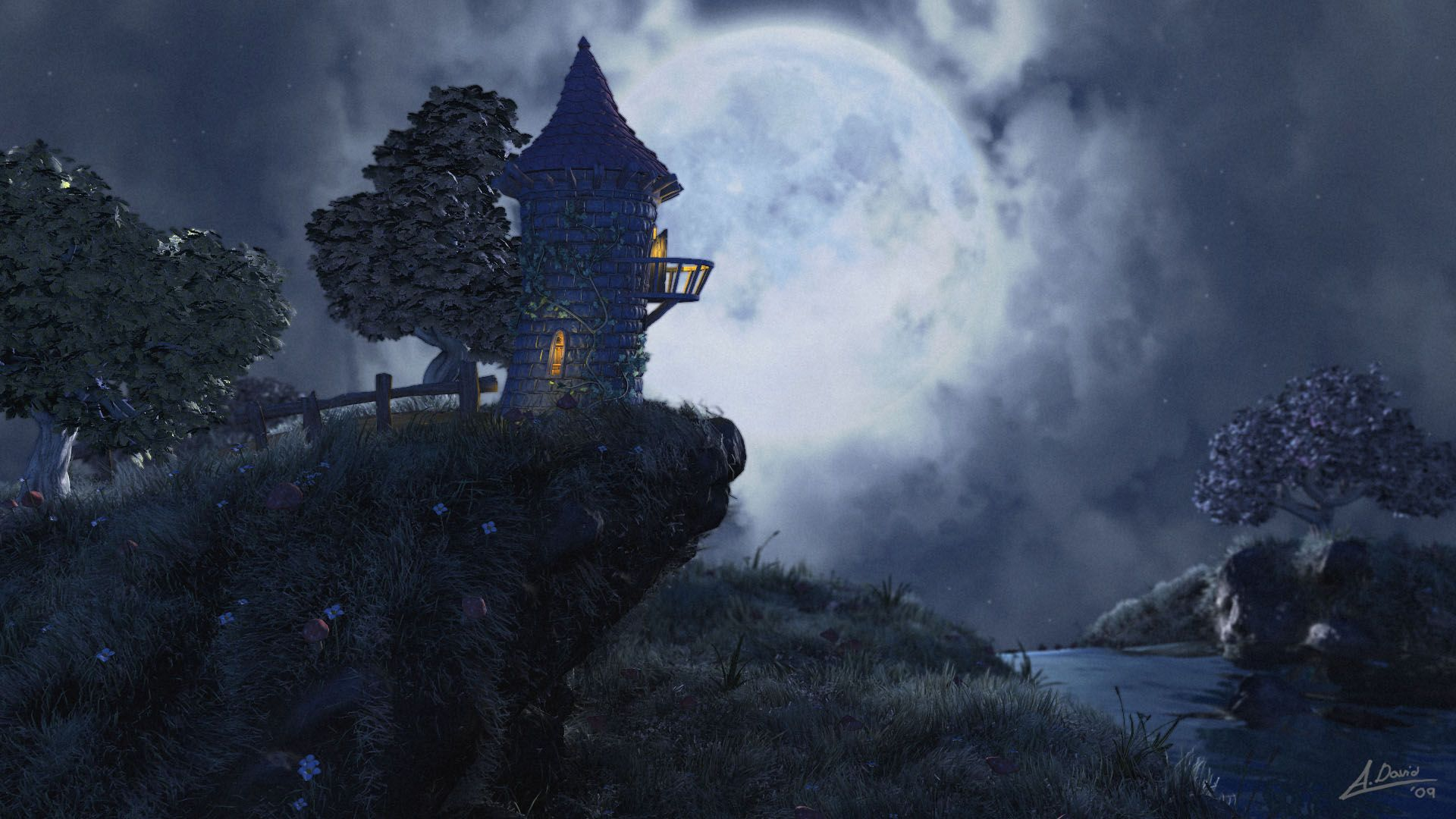 Unduh 80 Background Art Fantasy HD Terbaru