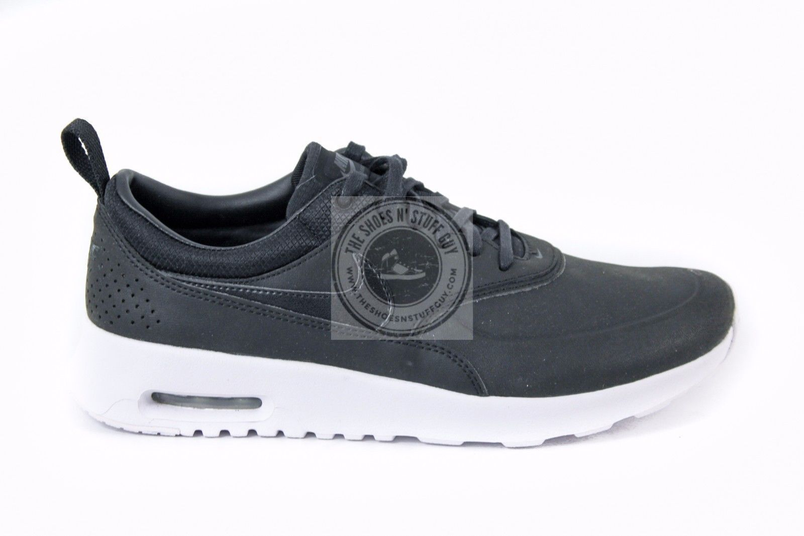 New Women S Nike Air Max Thea Prm 616723 007 Black White Size 9