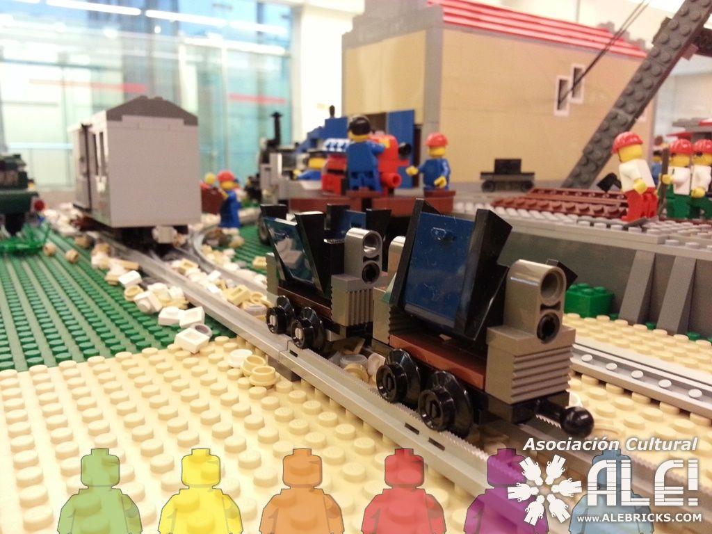 Locomotora minera del S.XIX