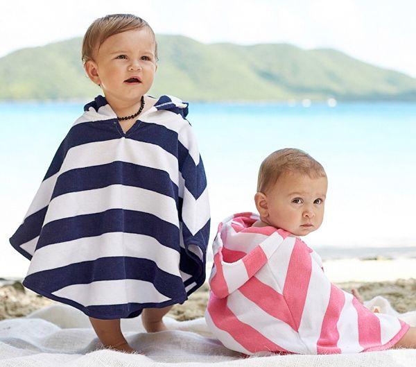 Poncho Beach Towel Fashion Cute Comes In Small