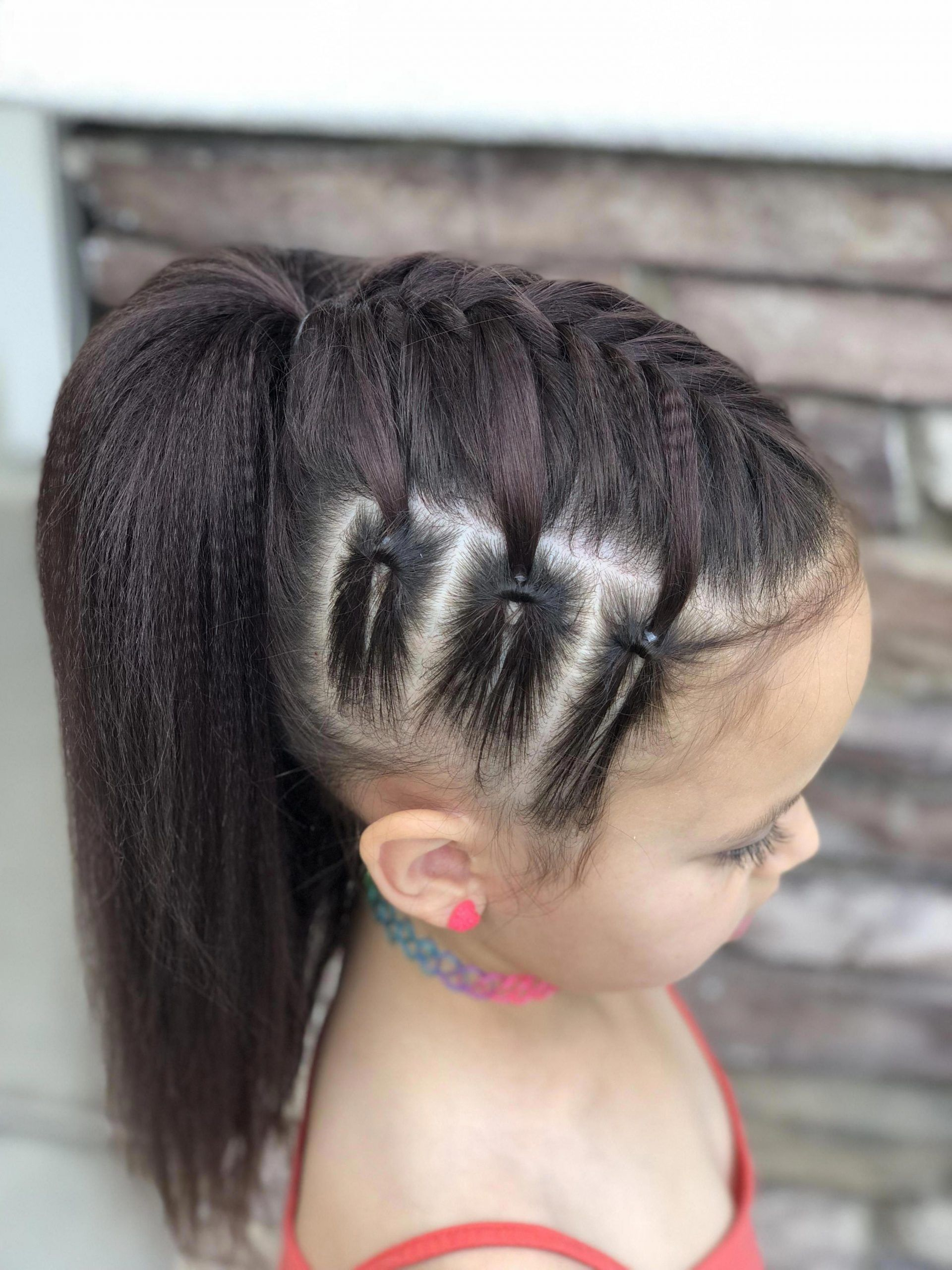 Braided Hairstyles For 9 Year Olds Braided Hairstyles In Kenya 2019 Braided H Braided Hairstyles Kenya In 2020 Hair Styles Little Girl Hairstyles Girl Hair Dos