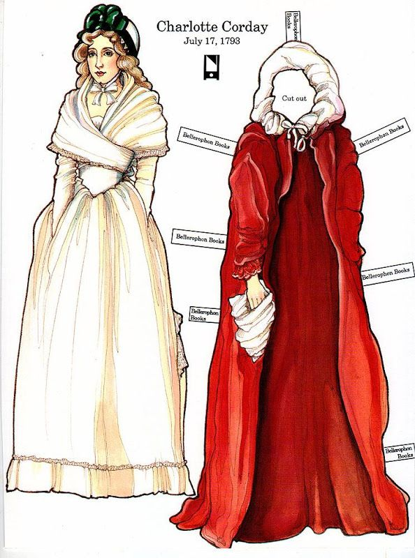 The French Revolution Paper Dolls - edprint2000paperdolls - Picasa Web Albums