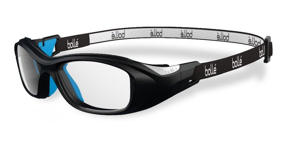 Bolle Swag Strap Black / Electric Blue 49 Eyesize Safety Frame ...