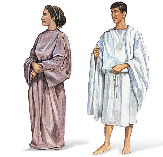 Ancient Greek Clothing: Rich And Poor Greeks Wore The Same Type Of Clothing