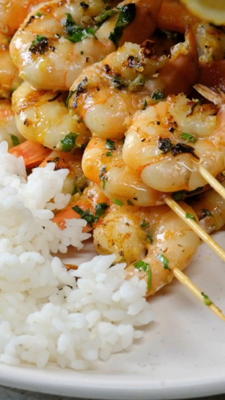 Photo of Grilled Garlic Shrimp | Delish D'Lites