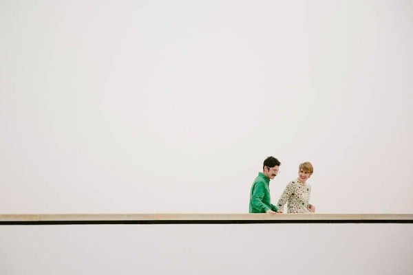 Quirky Cool Austin Engagement At The Blanton Museum Of Art Blanton Museum Art Museum Museum