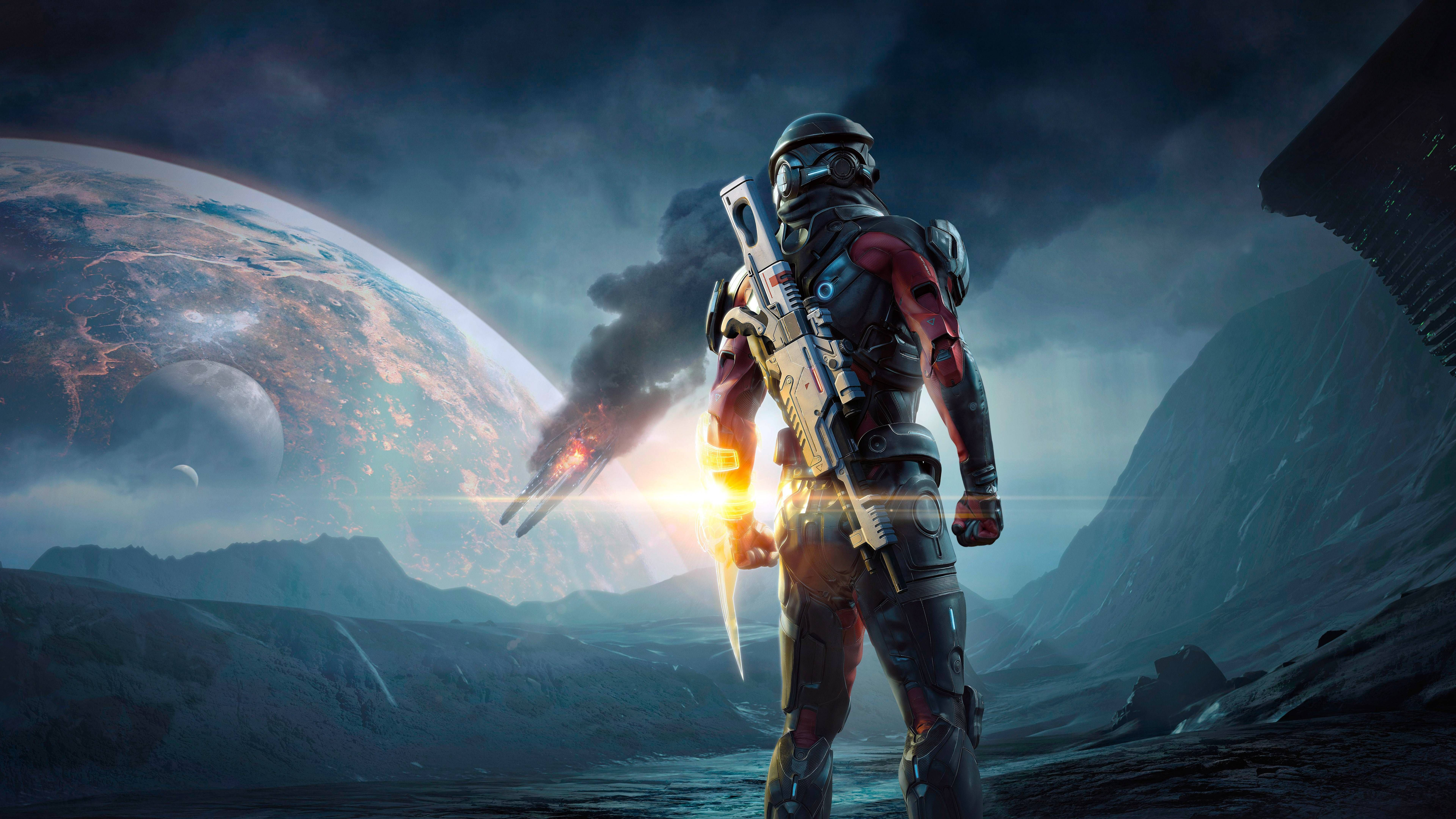 Mass Effect Andromeda 4K Wallpaper ( 7680 4320