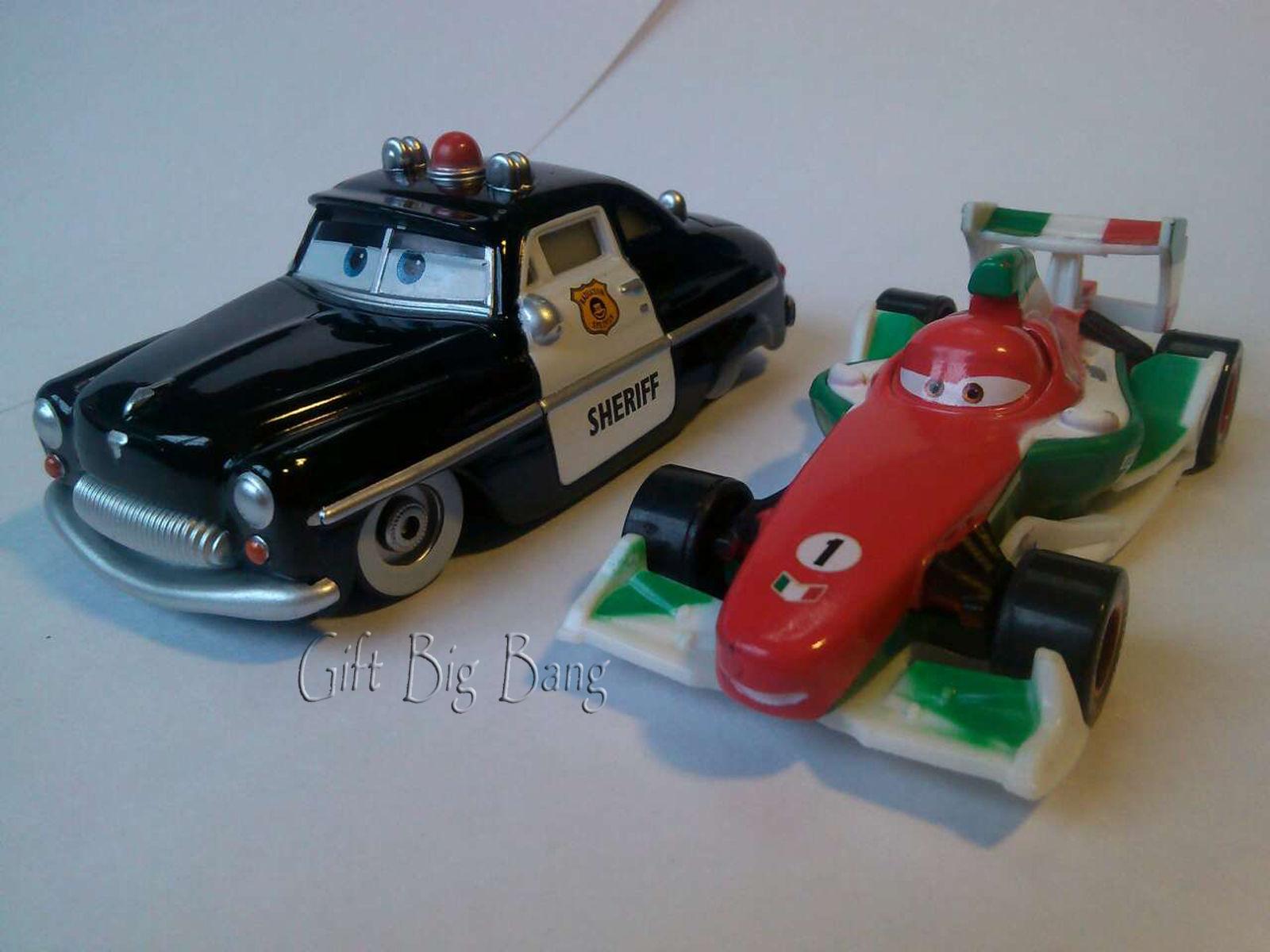 Toys cars pics  PCS Mattel Disney Pixar Cars Francesco Bernoulli u Sheriff Toys