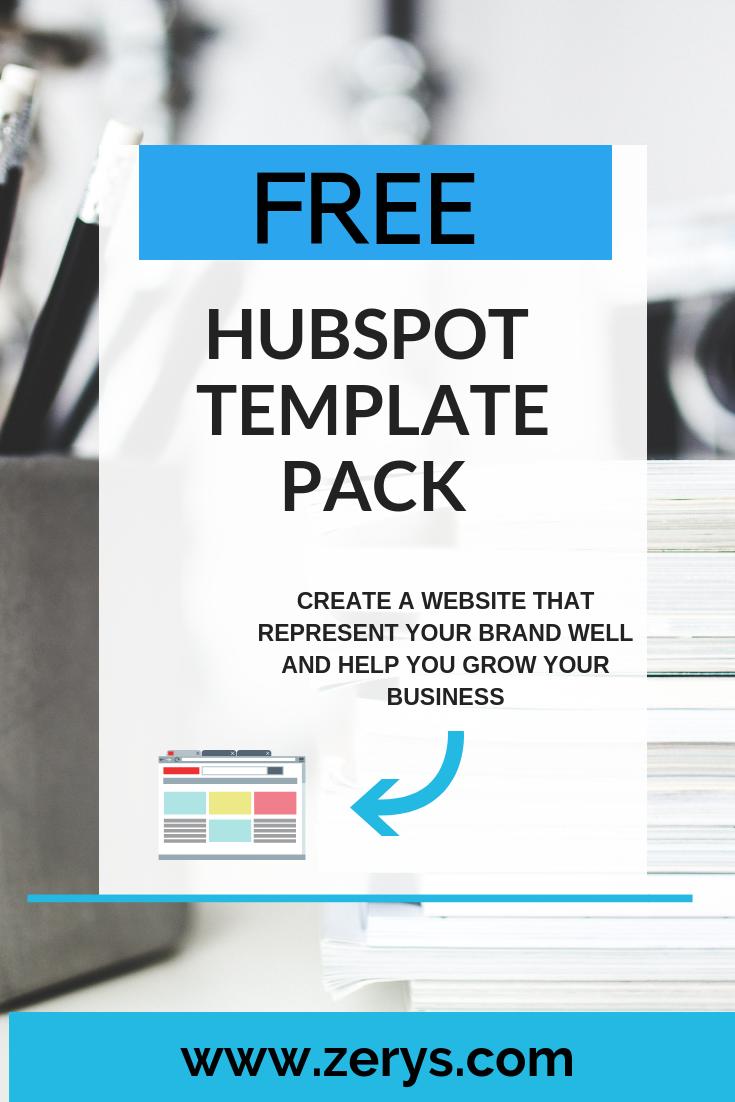 Free Hubspot Template Pack Hubspot Marketing Strategy Template Content Marketing Strategy