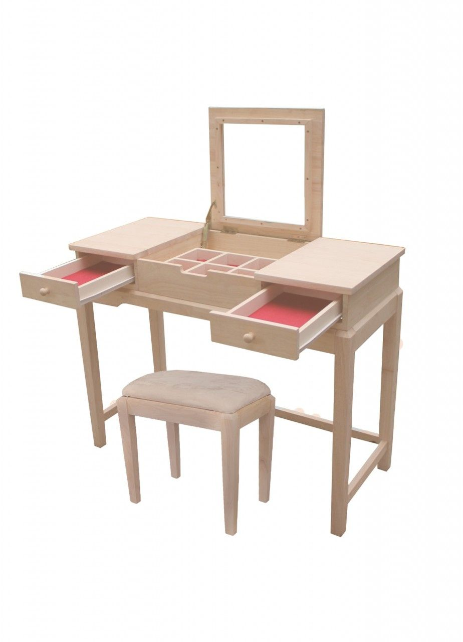 Charmant International Concepts Unfinished Vanity Table   Home Office Furniture  Collections Check More At Http:/