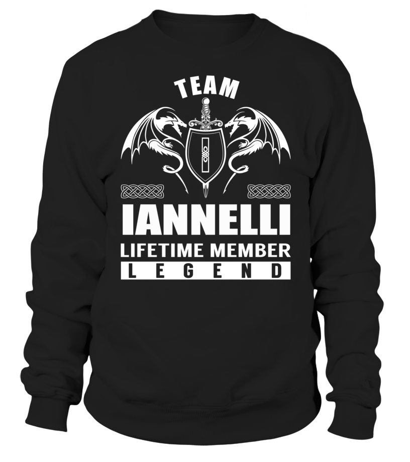 Team IANNELLI Lifetime Member Legend #Iannelli