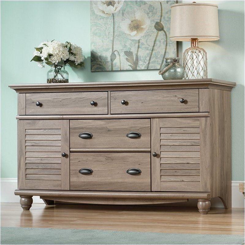 Pemberly Row Dresser in Salt Oak Oak bedroom furniture