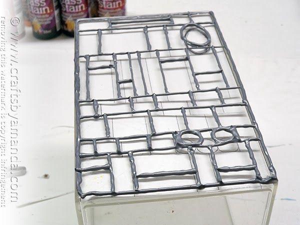 DIY: Stained Glass Mosaic Luminary